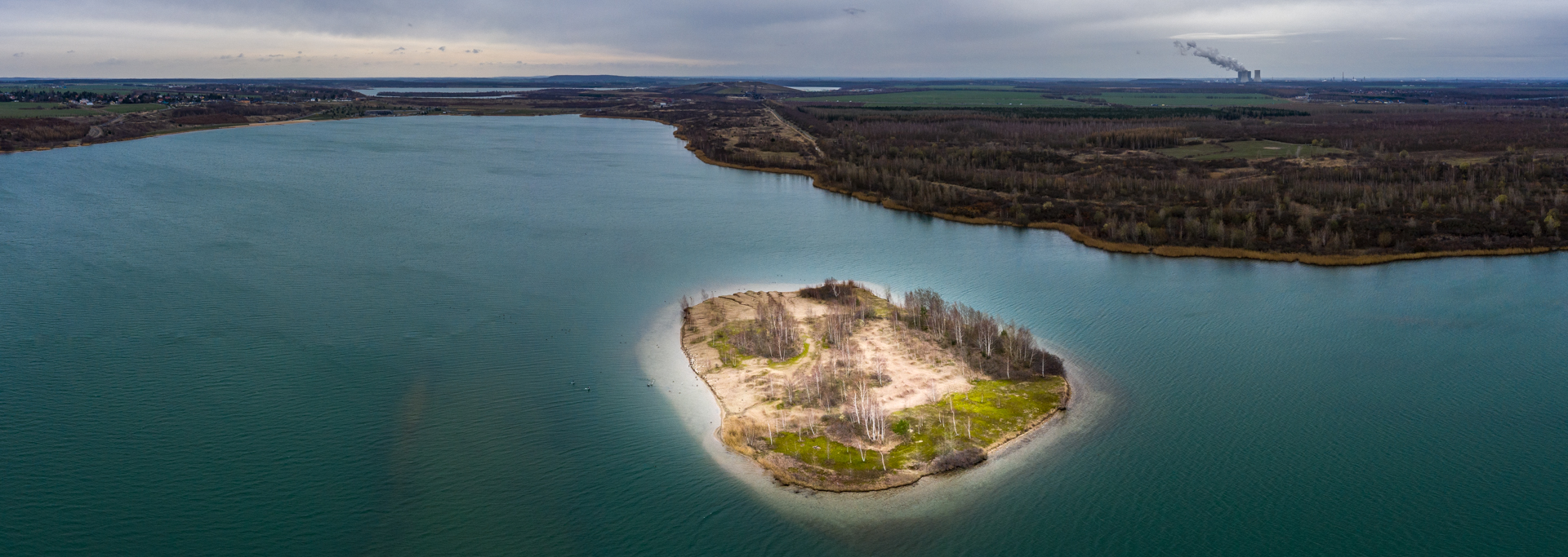 Insel in Meekkleeberger See